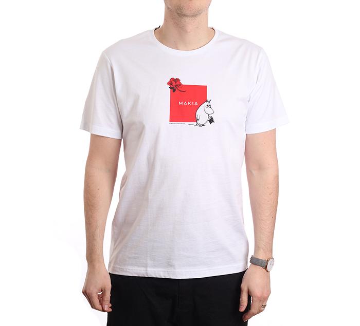 Makia X Moomin Sori T-Shirt White