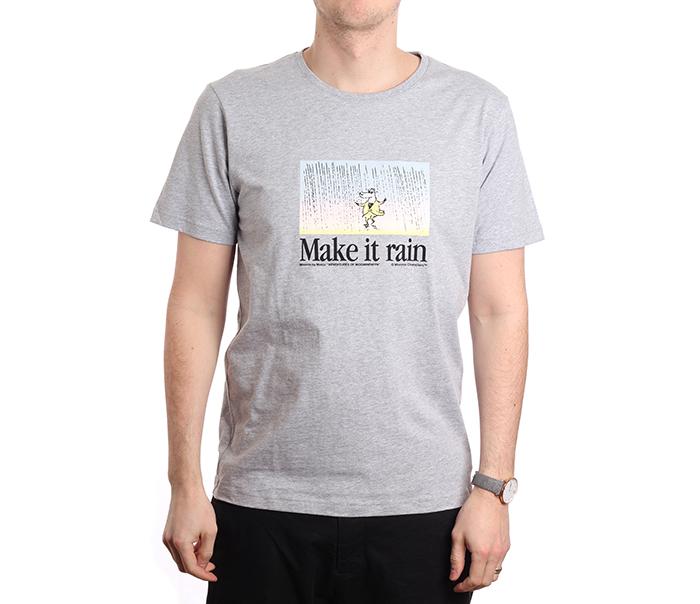 Makia X Moomin Tanssi T-Shirt Grey