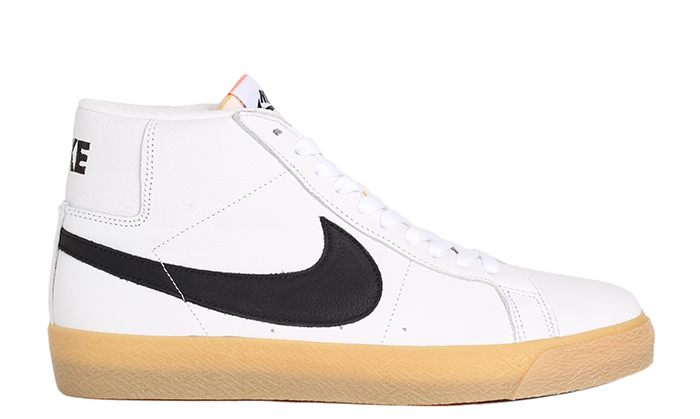purchase cheap a4c2c 9f8de Nike SB Zoom Blazer Mid ISO White   Black - Safety Orange