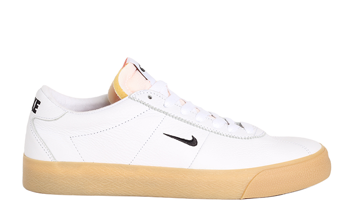 online retailer ae5b9 de359 Nike SB Zoom Bruin ISO White   Black - Safety Orange