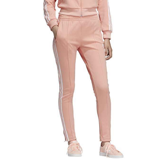 Adidas Womens SST Track Pants Dust Pink