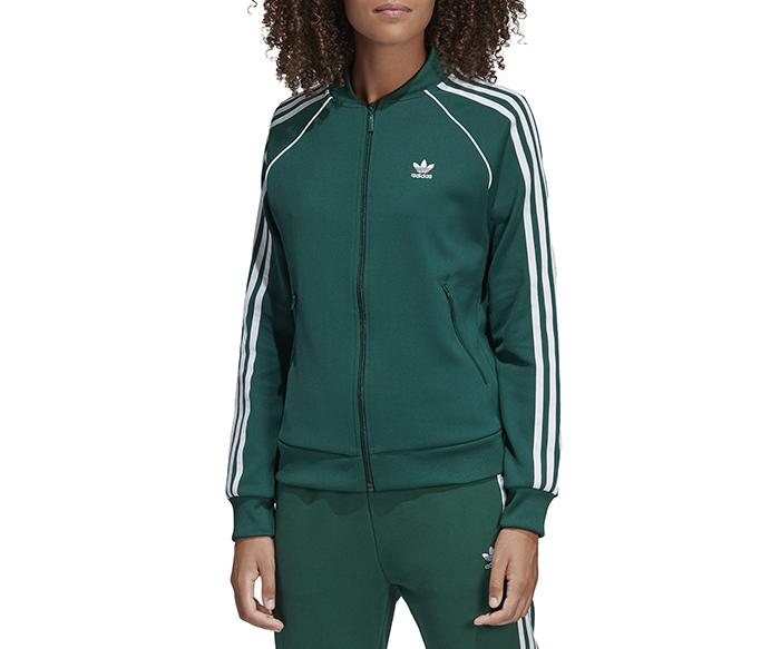 Adidas Originals Womens SST Track Jacket Collegiate Green Boardvillage