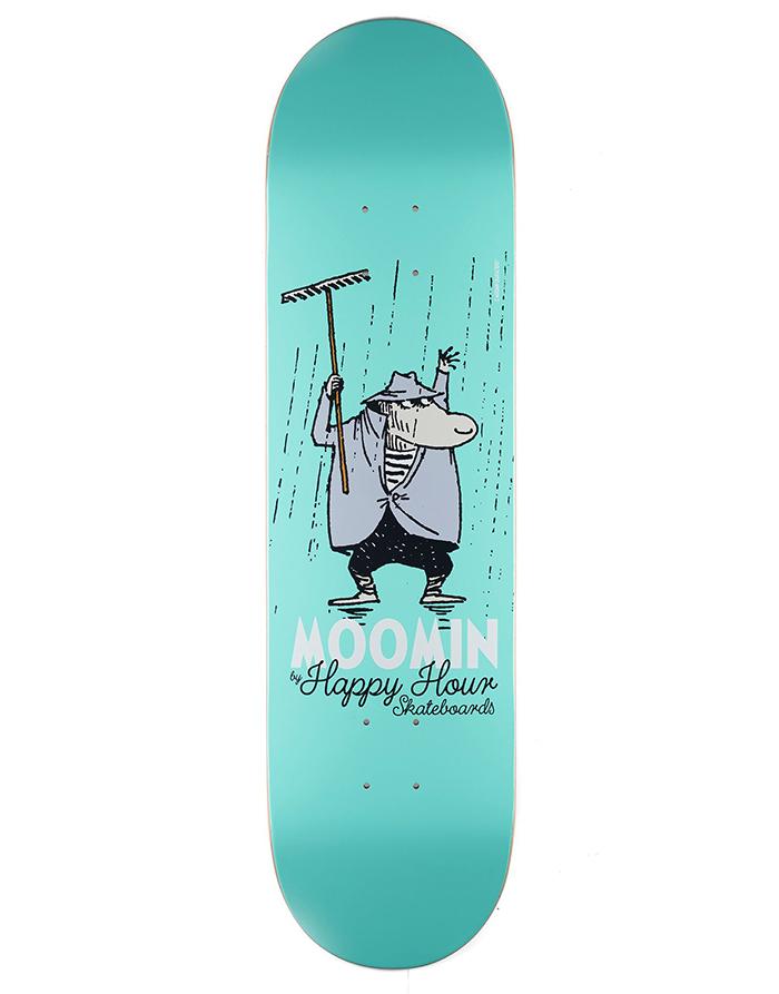 MOOMIN By Happy Hour Skateboards The Hemulen Deck 8.25