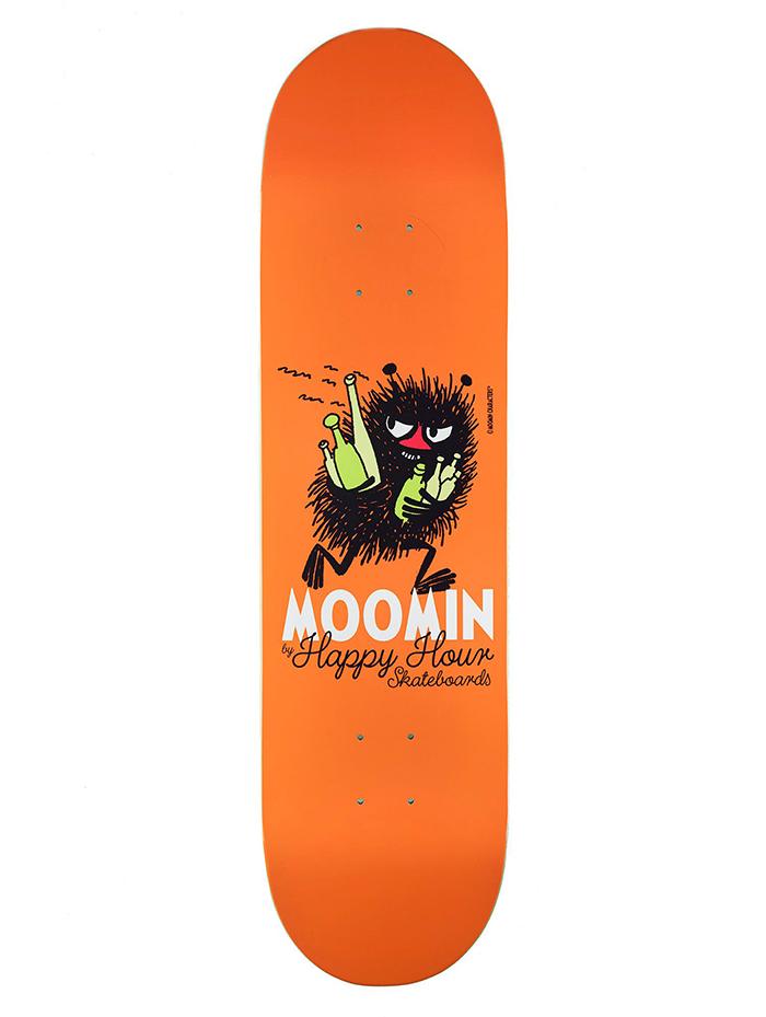 MOOMIN By Happy Hour Skateboards Stinky Deck 7.875
