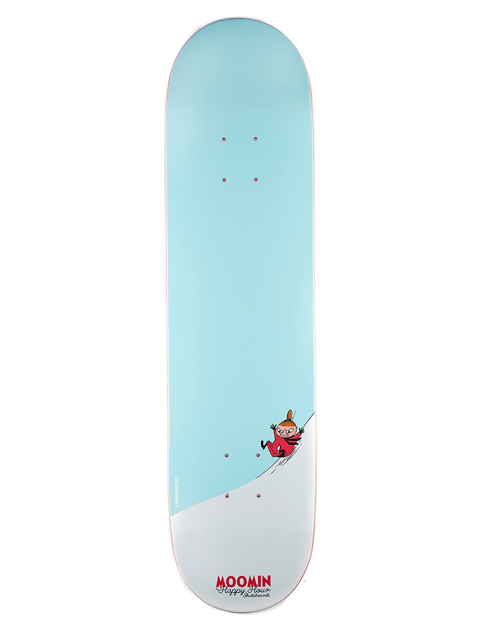 MOOMIN By Happy Hour Skateboards Little My Deck 7.75