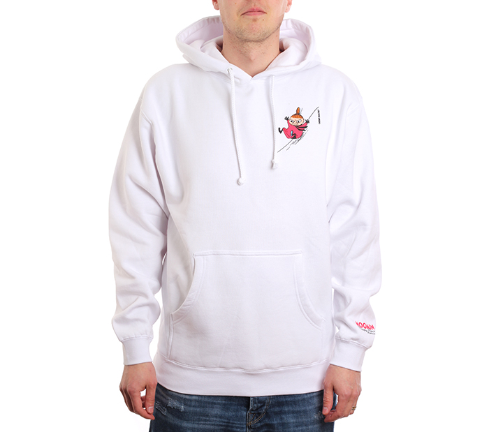 MOOMIN By Happy Hour Skateboards Little My Pullover Hood White