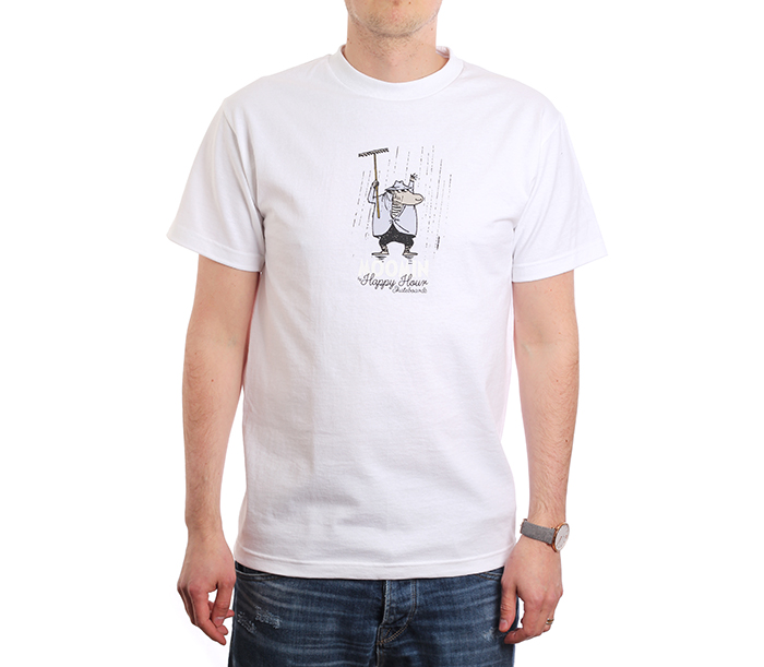 MOOMIN By Happy Hour Skateboards Hemulen T-Shirt White