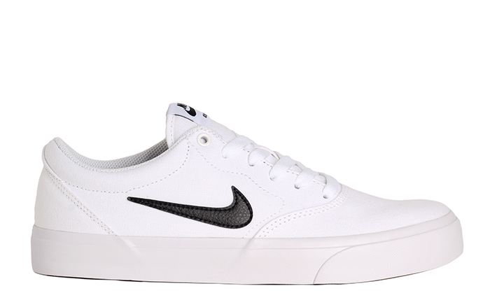 Nike SB Charge Canvas Solarsoft White / Black - White