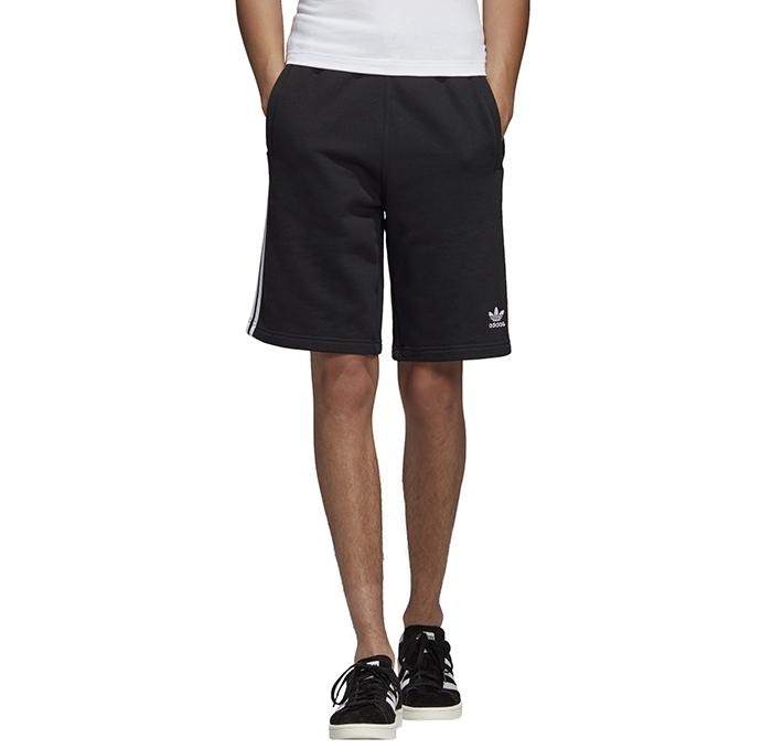 Adidas Originals 3 Stripes Shorts Black