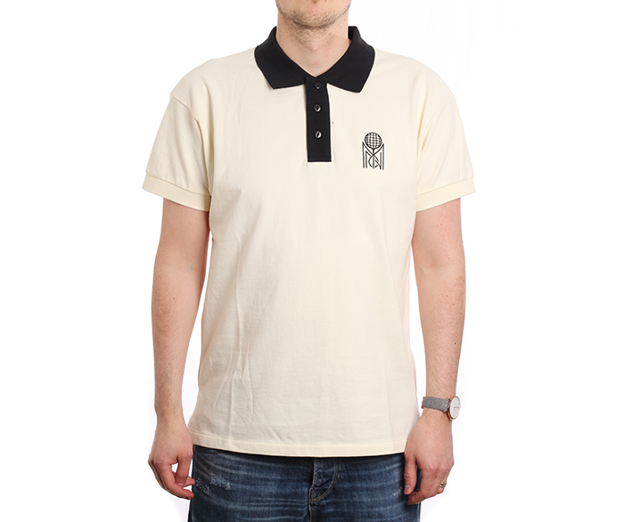 Mitchell & Ness Tennis Polo White
