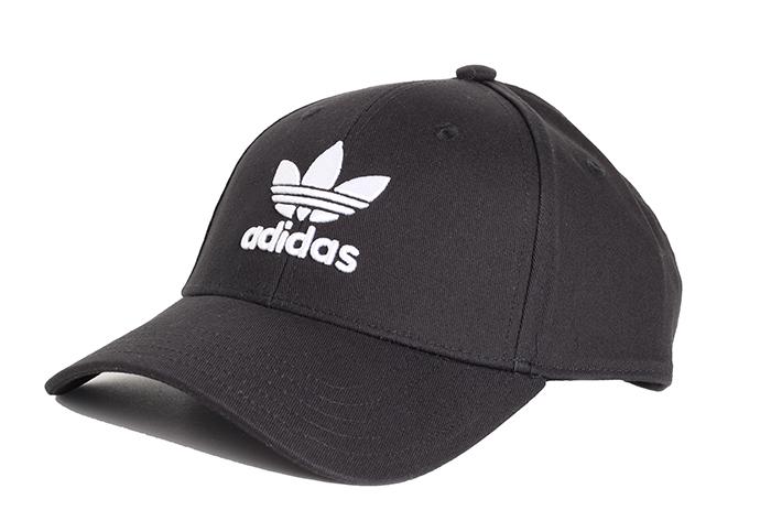 Adidas Originals Trefoil Baseball Cap Youth Black / White