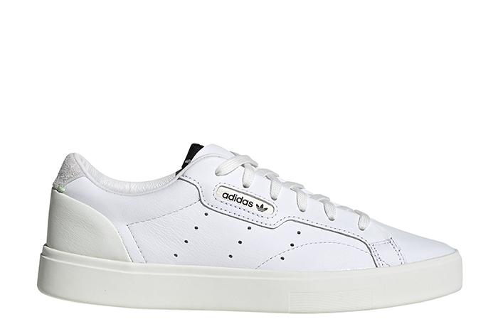 Adidas Womens Sleek FTWR White / Off White / Crystal White