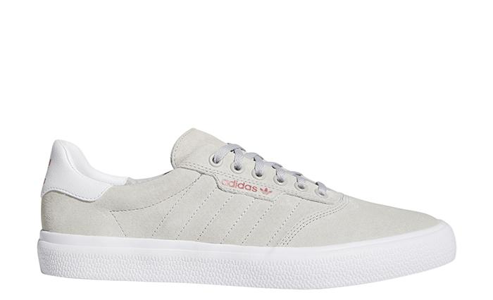 Adidas 3MC Vulc Grey Two / Footwear White / Scarlet
