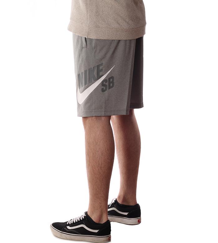 Nike SB Dry HBR Sunday Shorts Dark Grey Heather / White