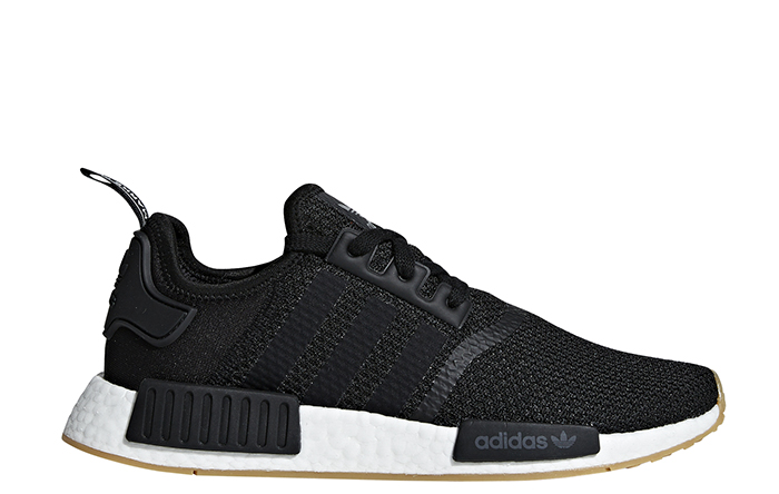 Adidas NMD_R1 Core Black / Core Black / Gum 3