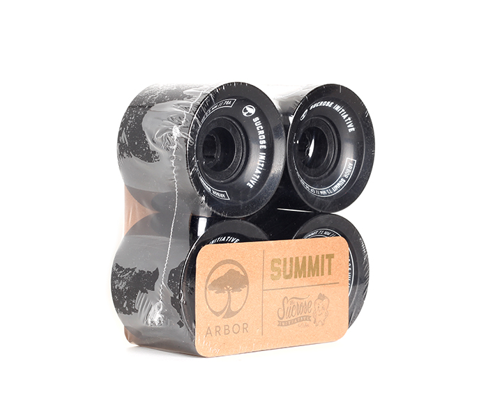 Arbor Summit Sucroce Wheels 71mm Black