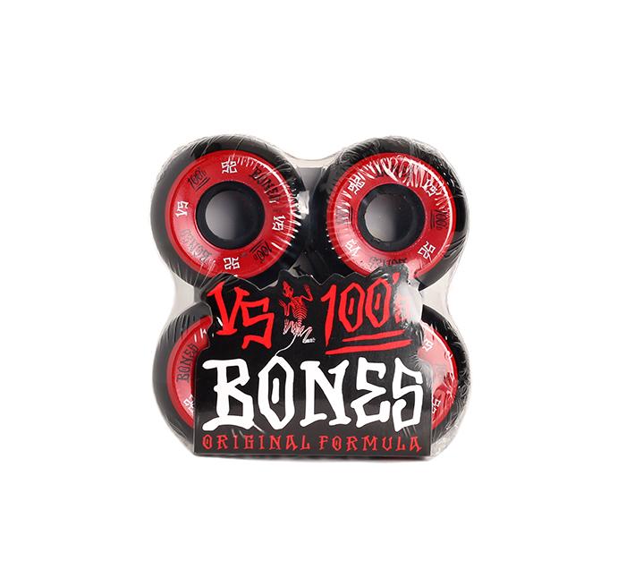 Bones Wheels 100´s #1 V5 Black 52mm