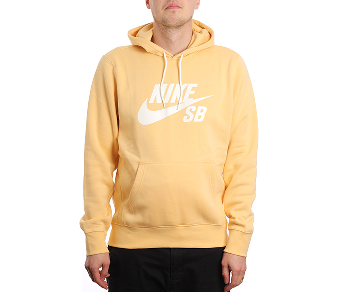 Nike SB Icon Hoodie Celestial Gold / Summit White