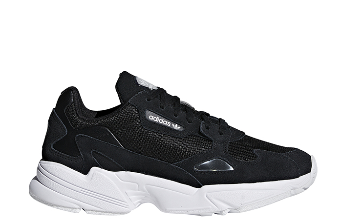 Adidas Womens Falcon Core Black / Core Black / FTWR White