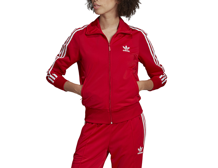 Adidas Originals Womens Firebird Track Jacket Scarlet