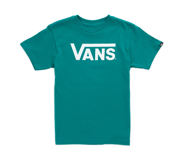 Vans Youth Classic Tee Quetzal / White