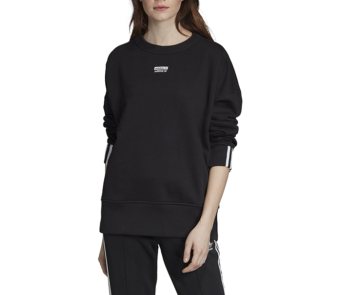 Adidas Originals Womens Vocal Sweatshirt Black