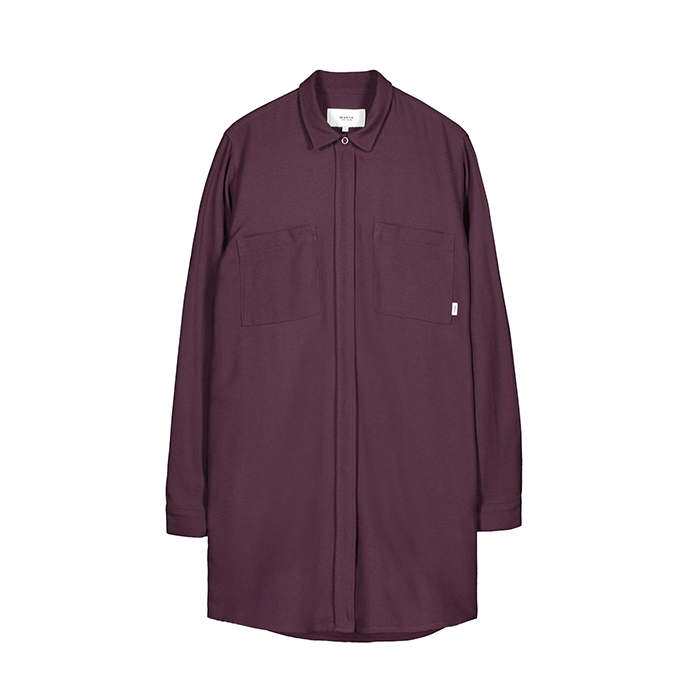 Makia Womens Nominal Shirt Wine
