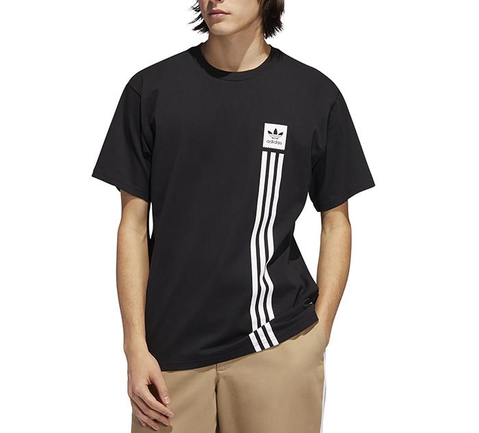 Adidas Originals BB Pillar Tee Black / White
