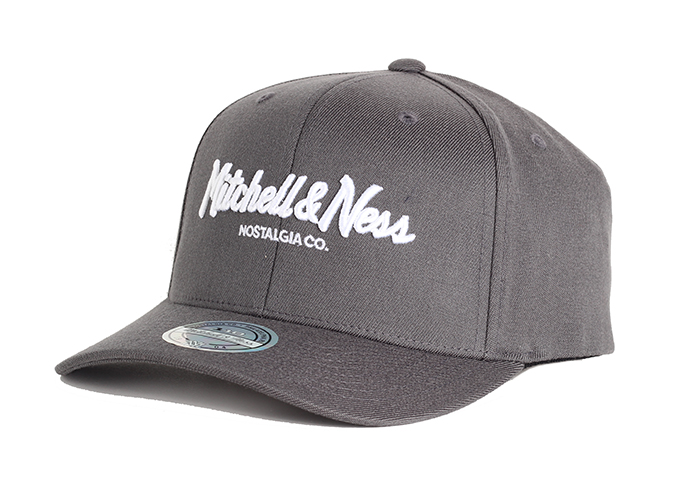 Mitchell & Ness Pinscript 110 Snapback Charcoal