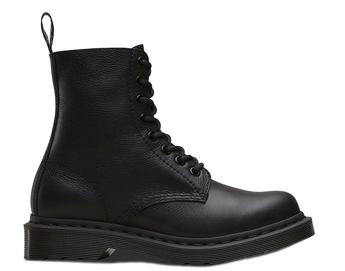 Dr. Martens 1460 Pascal Virginia Mono Black