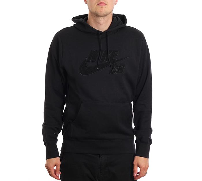 Nike SB Seasonal Icon Hoodie Black / Black / Black