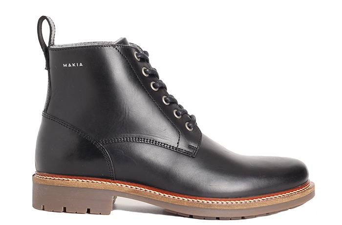 Makia Lined Avenue Boot Black