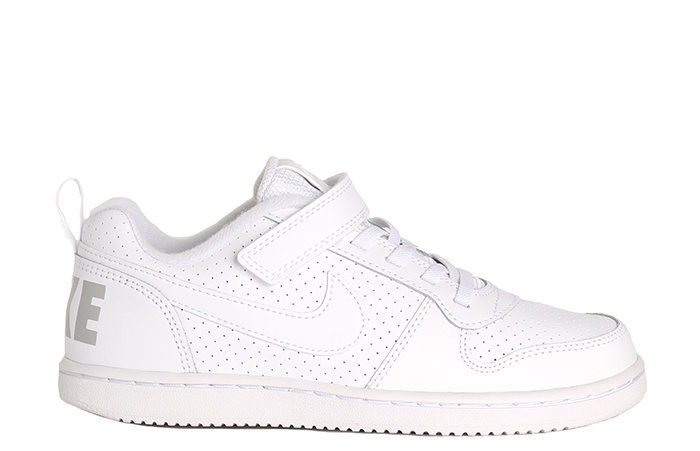 Nike Kids Court Borough Low White / White