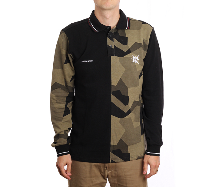 Volcom A.P. Polo LS Camouflage