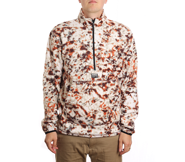 Volcom Atavic Quarter Zip Rust