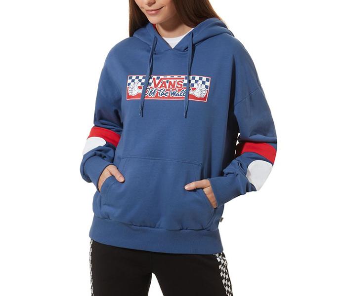 Vans Womens BMX Hoodie True Navy
