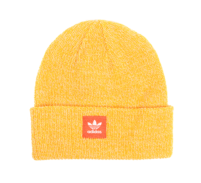 Adidas Joe Logo Beanie Active Gold / Cream White / Active Orange