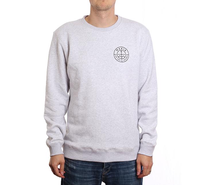 Makia Range Sweatshirt Light Grey