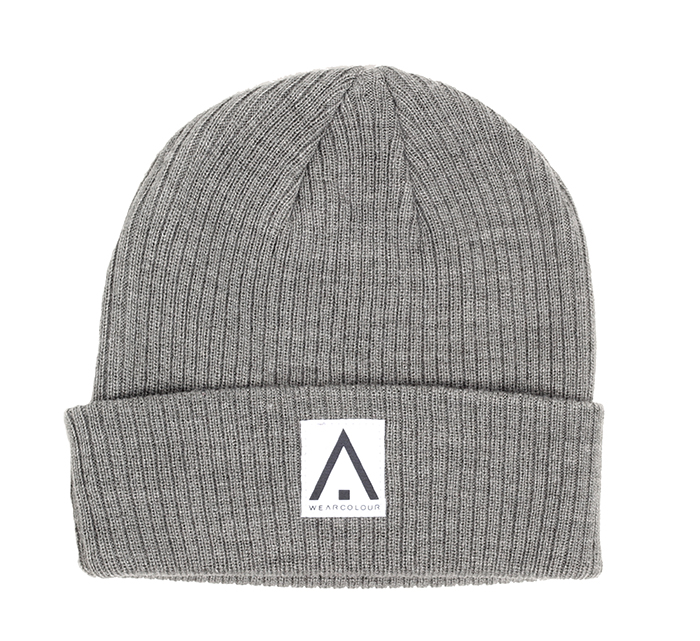 Wear Colour Y Beanie Grey Melange