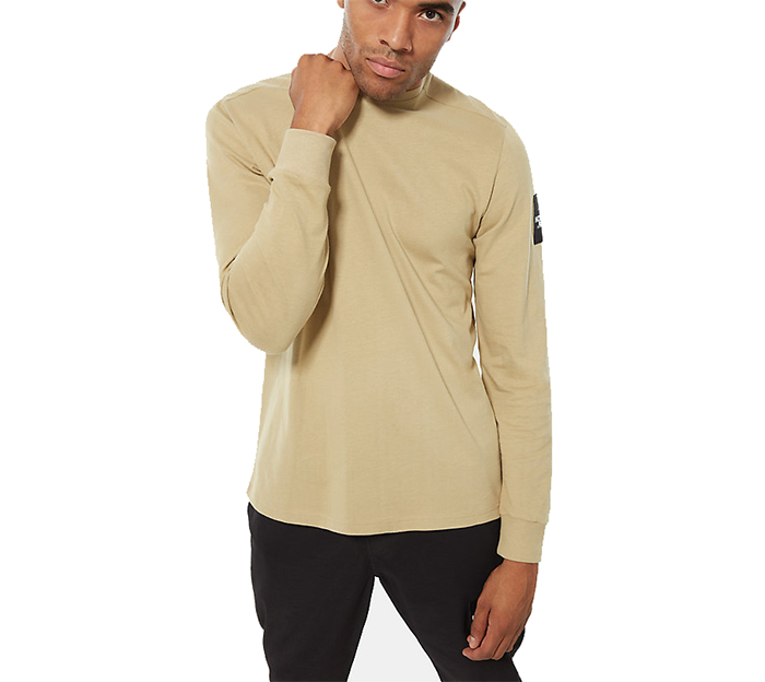 The North Face Fine 2 Longsleeve Tee Twill Beige