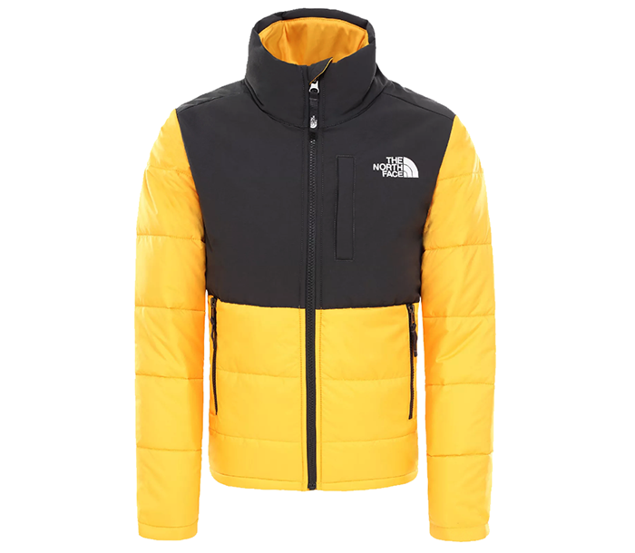 The North Face Youth Balanced Rock Insulated Jacket TNF Yellow