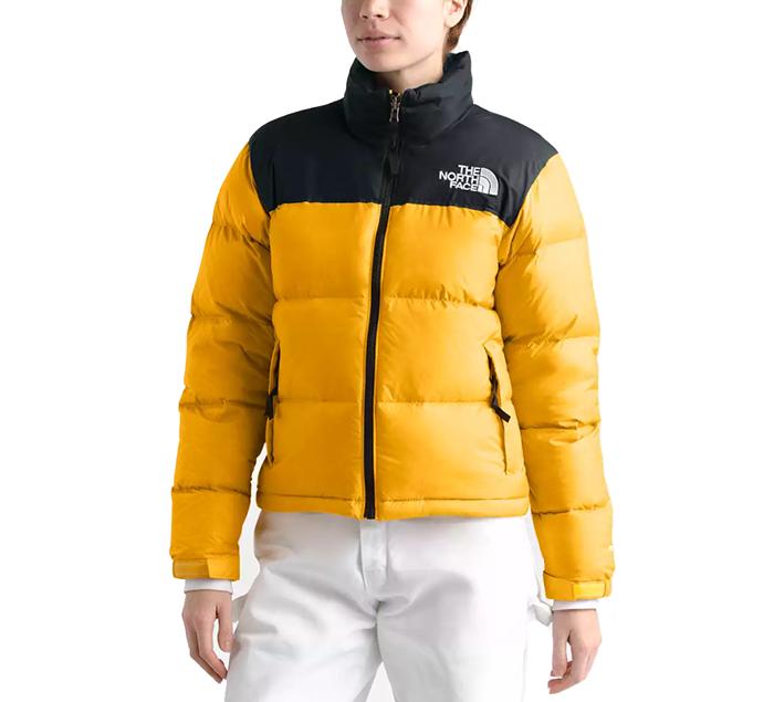 The North Face Womens 1996 Retro Nuptse Jacket TNF Yellow