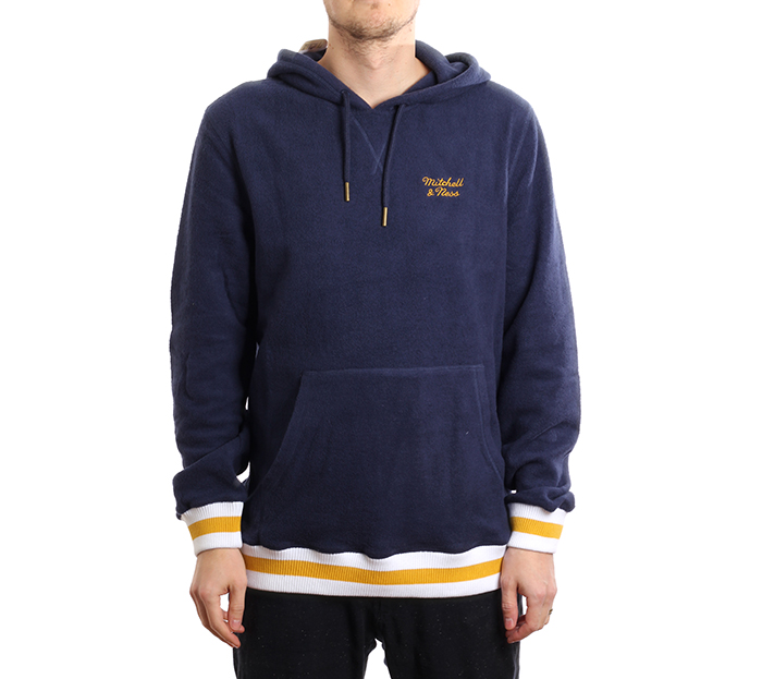 Mitchell & Ness Essentials Hoodie Navy