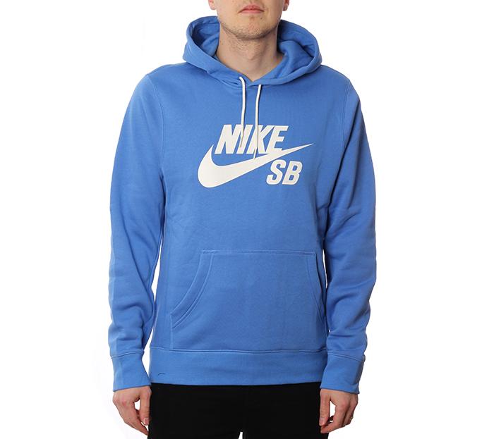 Nike SB Icon Hoodie Pacific Blue / Sail