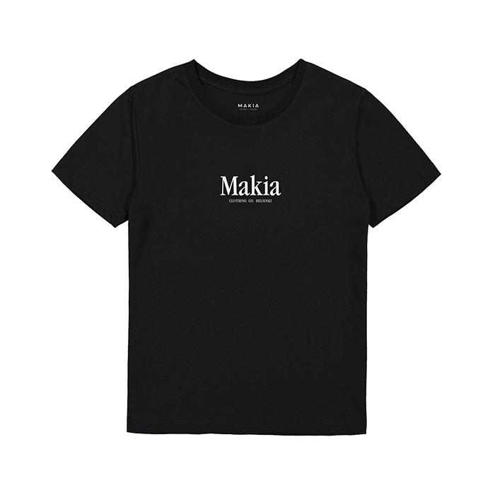 Makia Kids Strait Tee Black