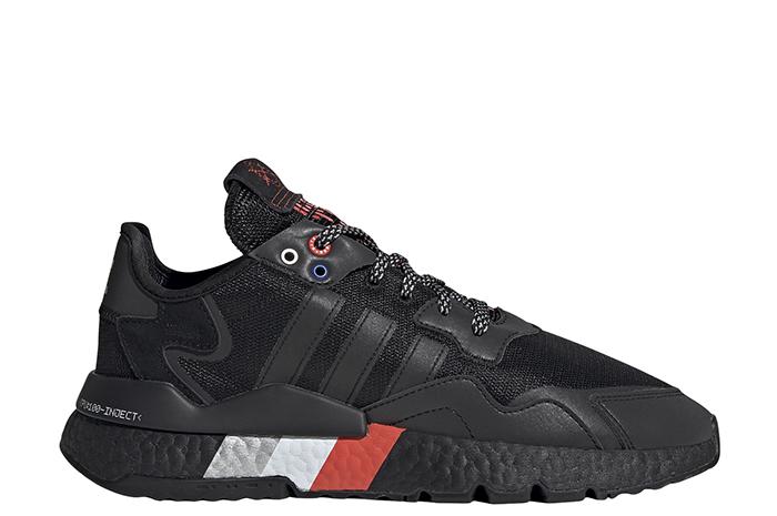 Adidas Nite Jogger Core Black / Core Black / Silver Metallic