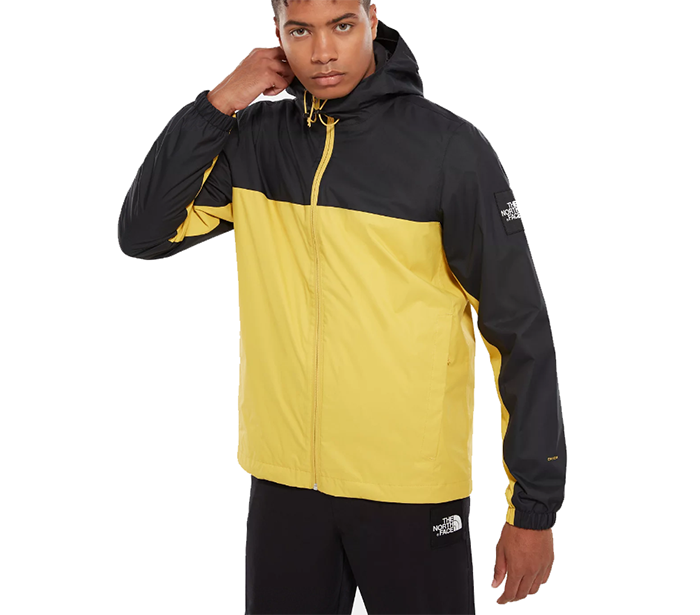 The North Face Mountain Q Jacket Bamboo Yellow / TNF Black