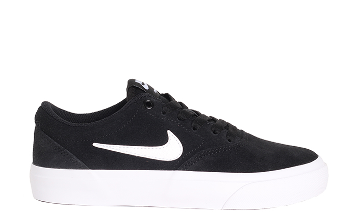 Nike SB Womens Charge Suede Black / White - Black