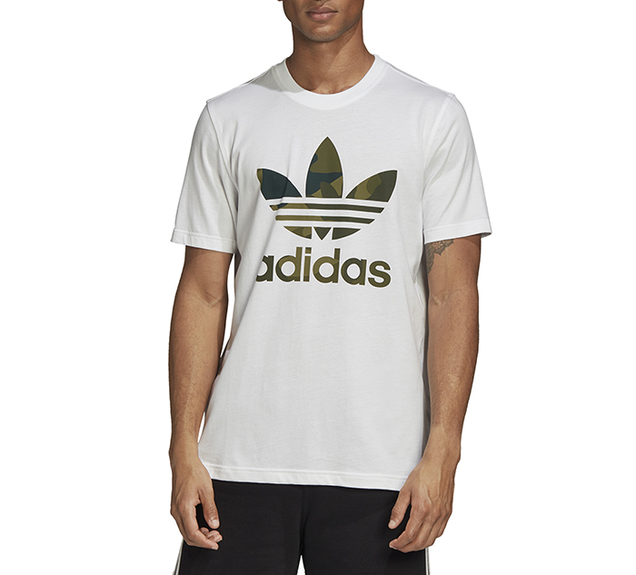 Adidas Originals Camouflage Tee White / Multicolor