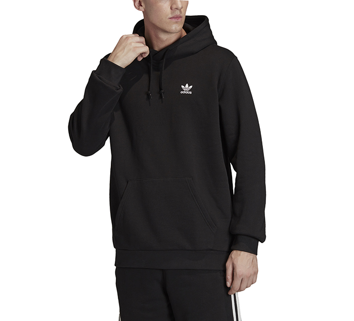 Adidas Originals Trefoil Essentials Hoodie Black